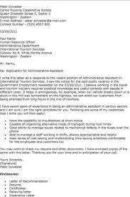 housing assistant cover letter