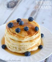 blueberry pancake made from scratch blueberry pancakes recipe creations by kara