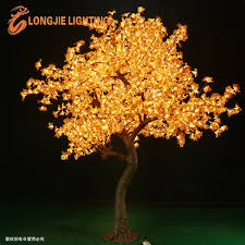 lighted tree branches 2544 led 3 0m high lighted maple leaves branches led maple tree