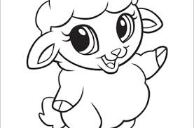 leapfrog printable baby animal coloring pages sheep litle pups