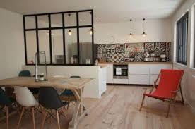 cuisine ouverte moderne mignon cuisine moderne ouverte galerie rideaux for verriere