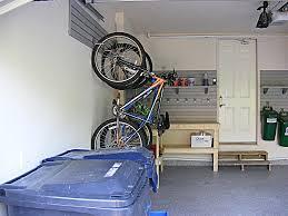 garage design heightened bicycle rack for garage diy bike and