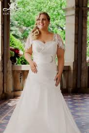 sleeve wedding dresses for plus size plus size lace wedding dresses with cap sleeves naf dresses