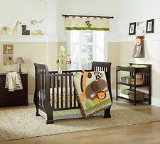 Monkey Crib Bedding Set by Tumble Jungle 6 Piece Crib Bedding By Nojo Elephant Monkey