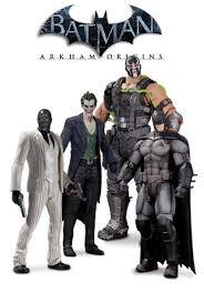 Batman Bane Halloween Costume Batman Arkham Origins Figures Featuring Batman Black Mask Bane