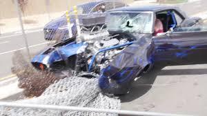 Black Mustang Crash Camaro Crash At Cars And Coffee Youtube
