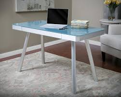 Office Depot Glass Computer Desk The Glass Writing Desk Lustwithalaugh Design