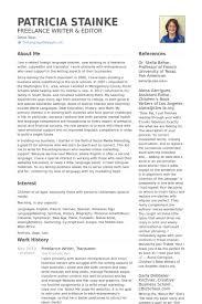 writer resume example resumecompanion com resume samples