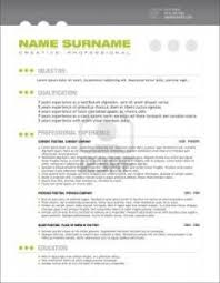 free resume templates outline sample presentation with 93