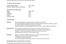 Medical Assistant Resume Samples by 100 Health Care Assistant Resume Curriculum Vitae Sample
