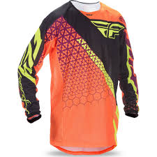fly motocross jersey fly racing 2017 kinetic mesh trifecta motocross jersey off road mx