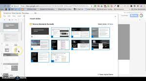 adding presentation to another presentation