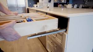 Drawer Boxes For Kitchen Cabinets How To Remove U0026 Install A Dovetail Drawer Box Youtube