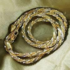 tone gold necklace images Alfa img showing 14k italy gold necklace 14k gold chain italy jpg