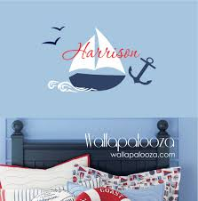 nautical name wall decal wallapalooza decals