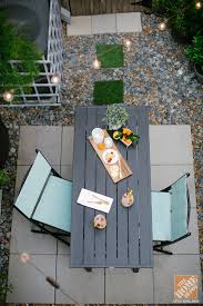 Backyard Ideas For Small Spaces Urban Backyard Decorating Ideas The Home Depot