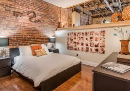 good times loft heart of downtown lofted bedroom queen bed