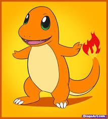how to draw charmander step by step pokemon characters anime