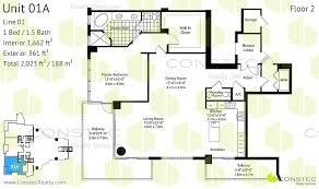 1 bedroom condo floor plans asia condo brickell key floor plans