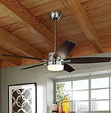 hunter windemere ceiling fan amazon com hunter windemere 54 in brushed nickel indoor downrod