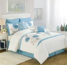 White And Blue Bedroom Bedroom Perfect Black And White Queen Bedding Set With Floral