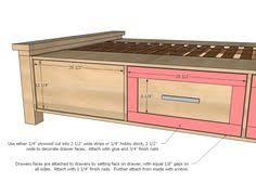 Plans For King Size Platform Bed With Drawers by Love The Idea Of Storage Under This Bed I U0027d Make Sure It Was On