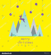 merry greetings geometrical background design stock