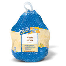 fresh whole turkey perdue harvestland turkey with giblets 16 20 lbs perdue