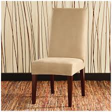 faux leather dining room chairs sure fit stretch leather shorty dining room chair slipcover