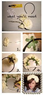 flower headbands diy diy s flower headband