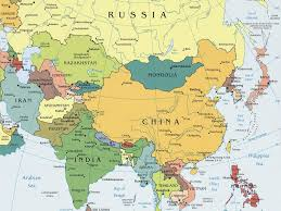 A Map Of Asia by Download A Political Map Of Asia Major Tourist Attractions Maps
