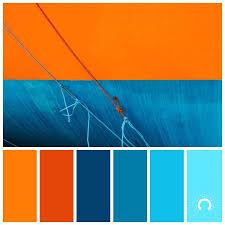 orange and color light blue color scheme color palette color combination hue orange