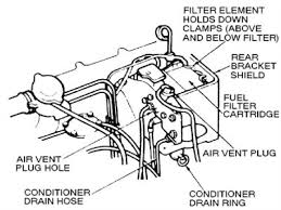 1992 ford ranger fuel solved where is the fuel filter located on 1984 ford fixya