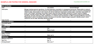 Private Investigator Job Description Resume by General Manager Job Title Docs