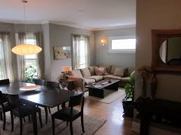 endearing living room dining room combo interior with home decor