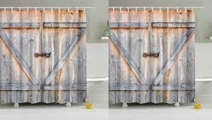 Walgreens Shower Curtain 7 90 Reg 26 Wood Door Printed Shower Curtain Free Shipping