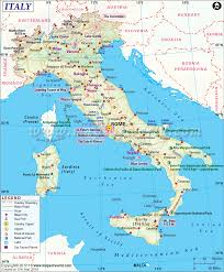 Europe Map Capitals by Italy Map Shows The Provinces With Their Capitals National