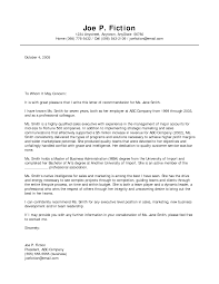 best photos of free sample business letter of recommendation