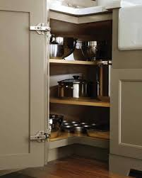 Storage Solutions For Corner Kitchen Cabinets Creative Design Corner Rotating Kitchen Cabinet Outofhome