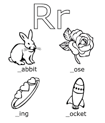 r words free alphabet coloring pages alphabet coloring pages of