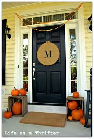 Pictures Of Front Porches Decorated For Fall - front porch fall decor