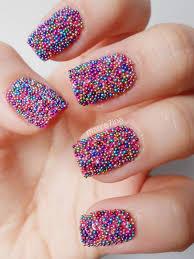 55 very cute caviar nail art design ideas