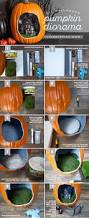 halloween pumpkin diorama diy pumpkin dioramas and tutorials