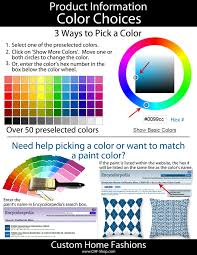 picking a color u0026 pre selected colors simplify ideas for the home