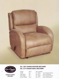 Recliner Rocking Chair Index