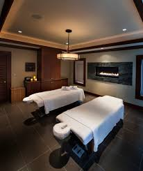 massageroom massage room color ideas home gym traditional with fireplace in