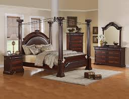 Cheap Queen Size Bedroom Sets by Cheap Canopy Pristine Curved Polkadot Canopy Over Mahogany Wood