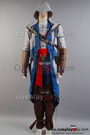 assasins creed halloween costume assassin u0027s creed 3 connor kenway cosplay costume full