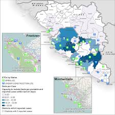 Map Of Sierra Leone Ebola Situation Report 7 January 2015 Ebola