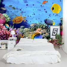 sea life wall murals home design ideas sea reef life wall mural part 40